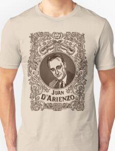 Juan d'Arienzo (in brown) Unisex T-Shirt