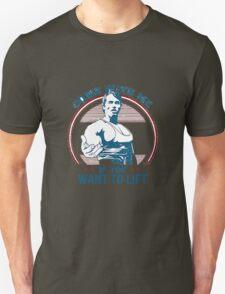 gym lift Unisex T-Shirt