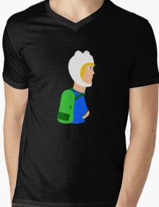 Adventure Time Finn Art Mens V-Neck T-Shirt