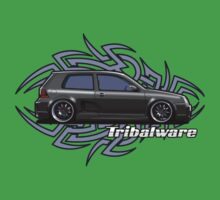 Tuning Car - Tribalware Kids Tee