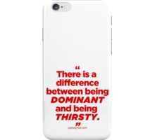 Houseboy Quotes 1 iPhone Case/Skin
