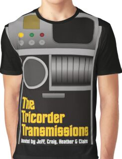 The Tricorder Transmissions Logo Graphic T-Shirt