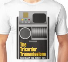 The Tricorder Transmissions Logo Unisex T-Shirt