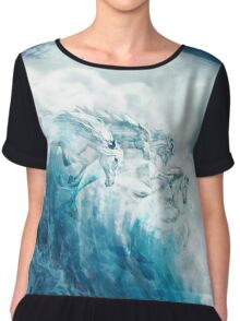 Sea Horses Chiffon Top