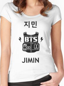 Jimin - Logo Clothing Women's Fitted Scoop T-Shirt
