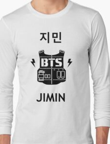 Jimin - Logo Clothing Long Sleeve T-Shirt