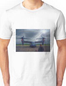 Watching the Apache Arrive Unisex T-Shirt