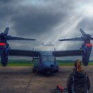 Watching the Apache Arrive by Nigel Bangert