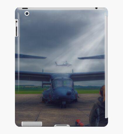 Watching the Apache Arrive iPad Case/Skin