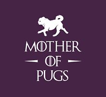 Mother of Pugs - White Unisex T-Shirt