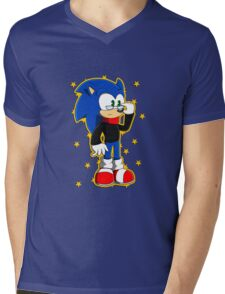 Smart/Separated Darkness Sonic Mens V-Neck T-Shirt