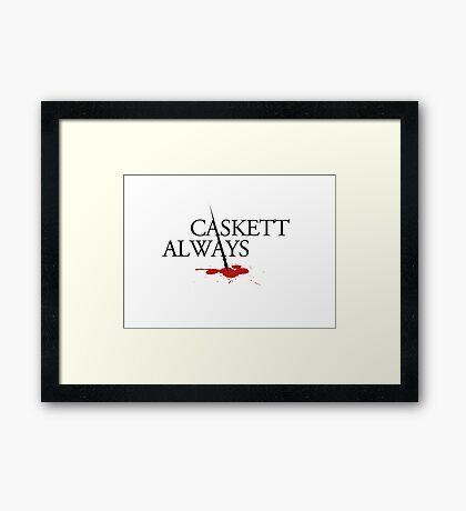 Caskett always Framed Print