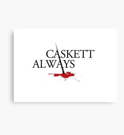 Caskett always Canvas Print