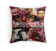 Gillian and David Throw Pillow