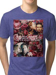 Gillian and David Tri-blend T-Shirt
