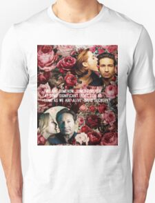 Gillian and David Unisex T-Shirt