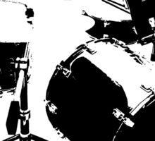 Drumkit (front view) Sticker