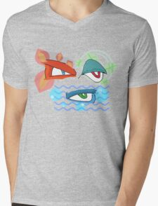 The Evolved Eyes Mens V-Neck T-Shirt