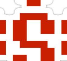 Contra Spread Logo Sticker