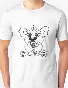 baby child cute sweet diapers pacifier small young comic cartoon kawaii Unisex T-Shirt