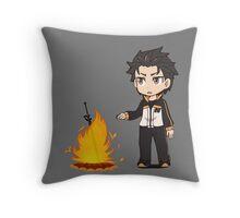 re zero bonfire Throw Pillow