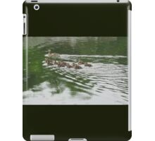 Eleven Duckling's in the Rain iPad Case/Skin