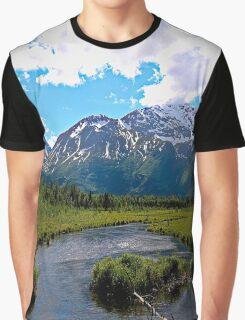 Eagle River, Alaska Graphic T-Shirt