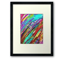 Shining in the water Framed Print