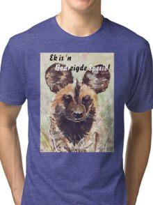 Ek is 'n Bedreigde Spesie! Tri-blend T-Shirt