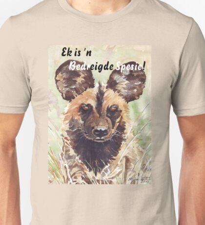 Ek is 'n Bedreigde Spesie! Unisex T-Shirt
