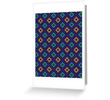 Don't Be Squared Pattern Greeting Card