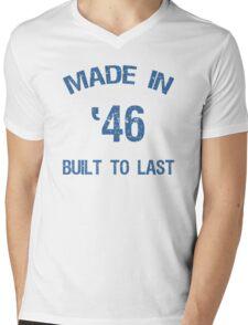 1946 Built To Last Mens V-Neck T-Shirt
