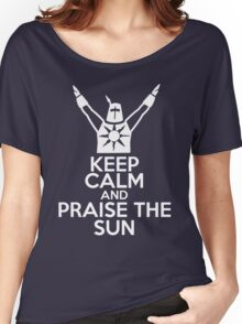 Keep Calm and Praise The Sun Women's Relaxed Fit T-Shirt
