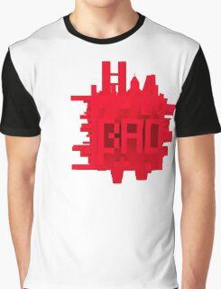 Bad City Cube Large Graphic T-Shirt