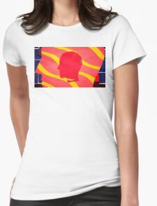 Feels Like We Only Go Backwards. Tame Impala. Womens Fitted T-Shirt