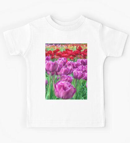 Tulip Field Kids Tee