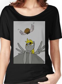 Curious Derpy Hooves Women's Relaxed Fit T-Shirt