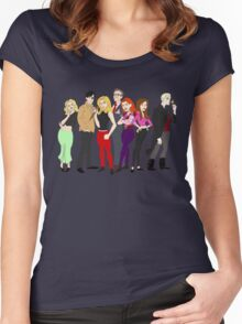 buffy-doo Women's Fitted Scoop T-Shirt