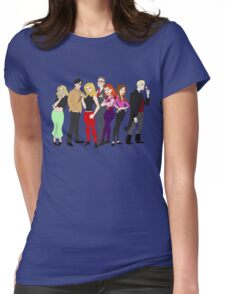 buffy-doo Womens Fitted T-Shirt