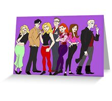 buffy-doo Greeting Card