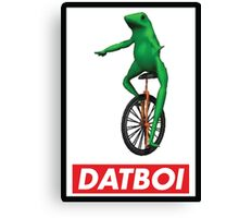 Obey Dat Boi Canvas Print
