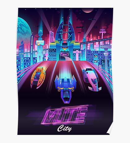 Mute City Poster