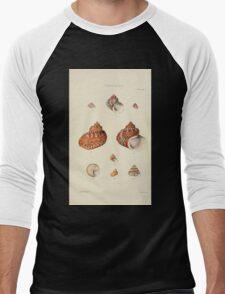 Thesaurus conchyliorum Monographs of genera of shells George Brettingham Sowerby 1887 V1-V5 276 Men's Baseball ¾ T-Shirt