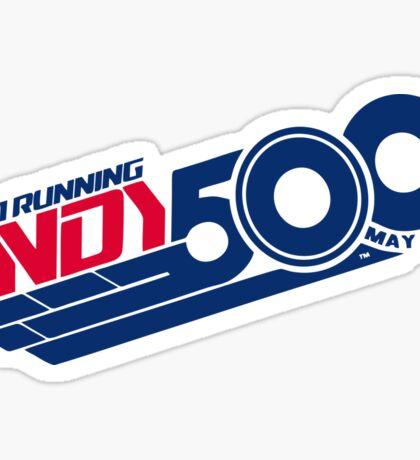 Indi 500 Sticker