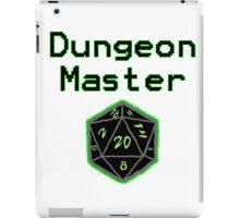 Neon Green Dungeon Master  iPad Case/Skin