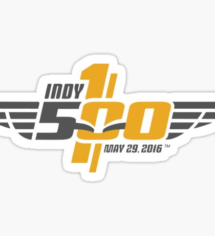 The Indianapolis 500 Sticker