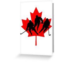 Canada hockey Greeting Card