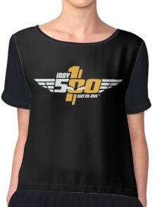Indianapolis Speedway Chiffon Top