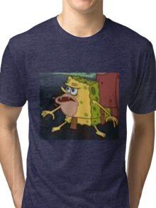 SPONGEGAR MERCH Tri-blend T-Shirt