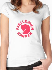 Kanken Women's Fitted Scoop T-Shirt
